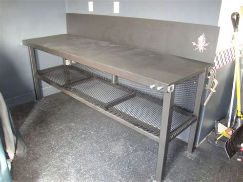 homemade metal work bench best 25 metal work bench ideas on pinterest garage