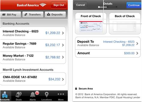app bank of america bank of america updates ios app