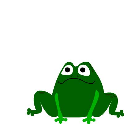 adorable animated frogs colorful frog animation