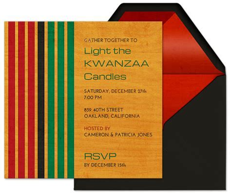 Kwanzaa Party Guide   Evite