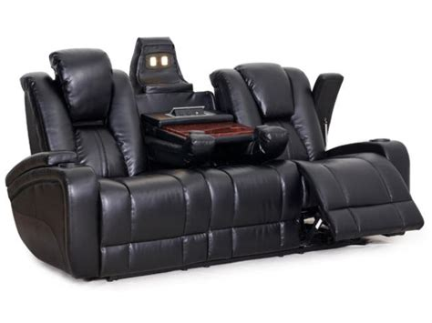 seatcraft innovator home theater seating row of 3 sofa w