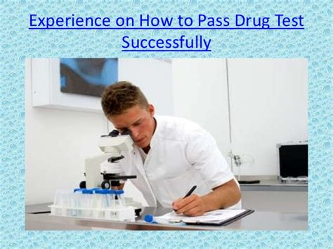 experience on how to pass test successfully