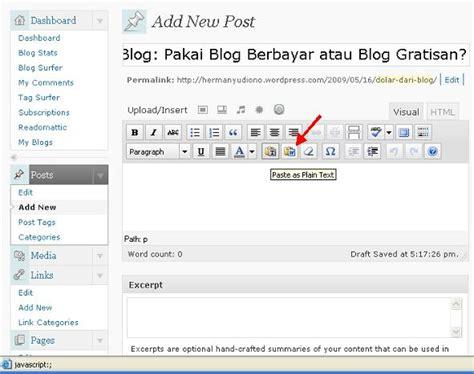 cara membuat artikel mudah cara mudah membuat tabel di artikel wordpress segiempat