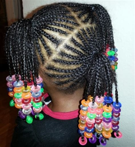 beaded braid hairstyles cute kid hairstyles with beads hairstyles