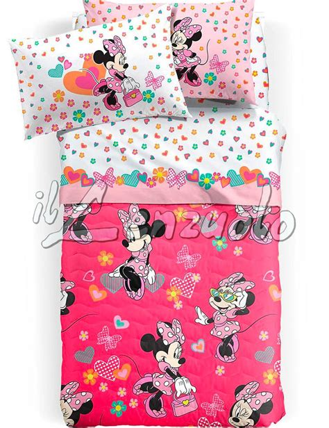 copriletto disney copriletto trapuntato disney una piazza e mezza minnie happy