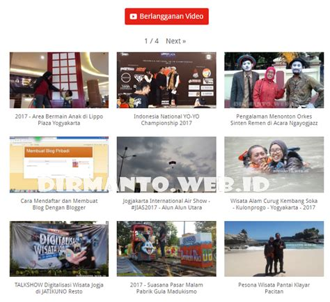 membuat instagram jadi blog pribadi membuat halaman video blog pribadi personal blog indonesia