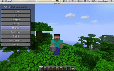 mods in minecraft for mac how to install shape shifter mod minecraft 1 2 5 mac youtube