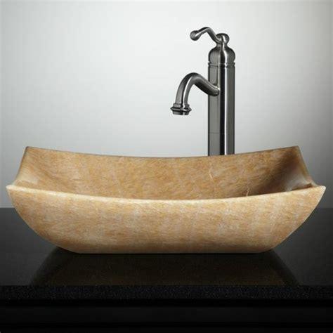le lavabo en pierre en 61 photos et des astuces d 233 co - Lavabo En Pierre