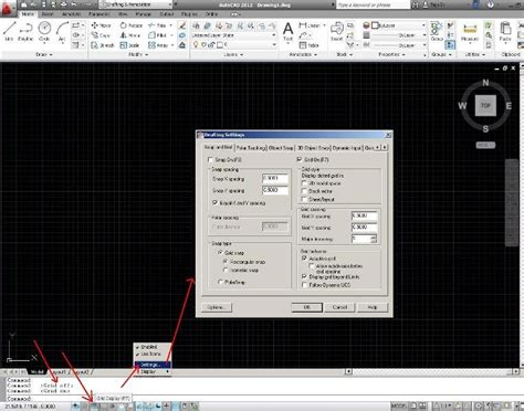 layout grid autocad autocad design grid and snap autocad 2012