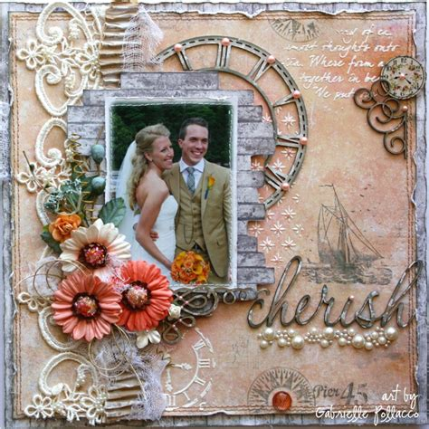 wedding layout pages such a pretty mess getting my family wedding photos