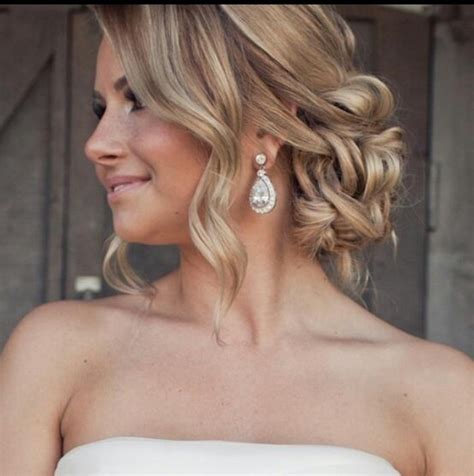 wedding hair color ideas stunning soft updo prom