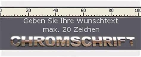 Chrom Aufkleber Selbst Gestalten by 3d Chrombuchstaben Fur Auto Werbung Oder Business