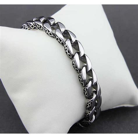 Anting Titanium 1 s jewelry totem bracelet titanium steel gelang