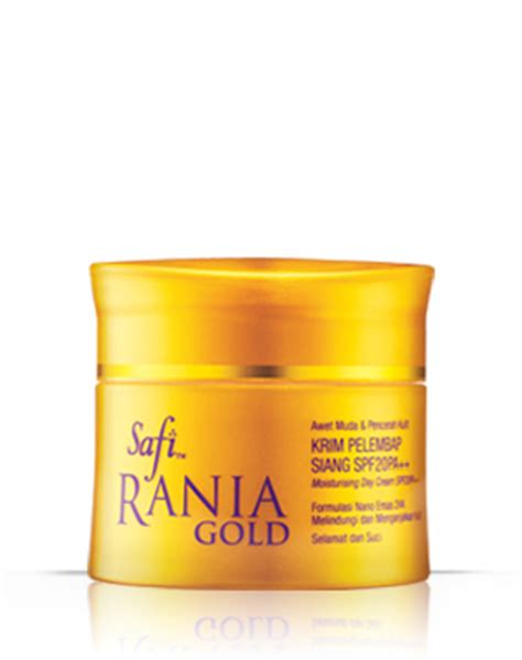 Krim Mata Safi Rania Gold quot cantik sihat selalu quot safi rania gold krim pelembap