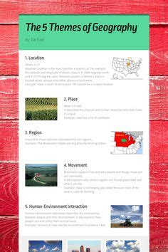 5 themes of geography washington state state travel brochure template and internet resources