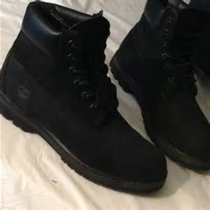 all black timberland boots all black timberlands www pixshark images