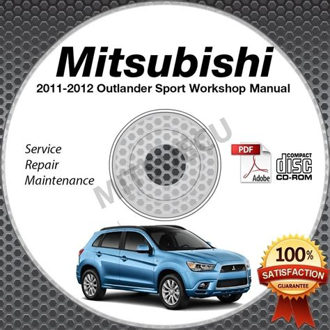 service manual 2012 mitsubishi outlander sport workshop manual free mitsubishi outlander