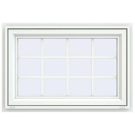 Home Depot Awning Windows by Tafco Windows 32 In X 16 In Awning Vinyl Window With