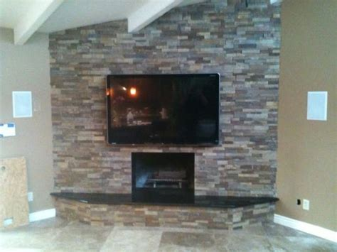 Fireplace Wiring by Plasma Tv Installed Fireplace All Wiring Concealed