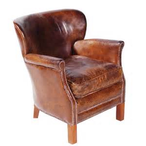 Vintage leather chair professor chair accent chair halo living