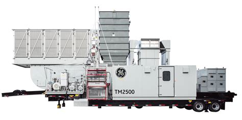 tm2500 mobile gas turbine power plant ge power