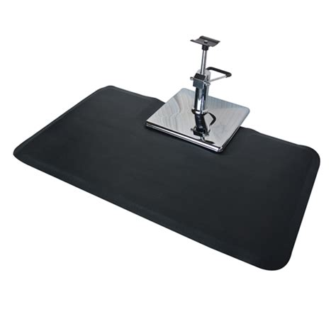 Floor Mats For Salon Chairs by Square Salon Floor Mat For Square Base