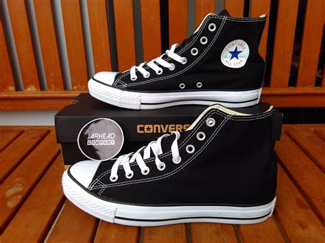 Sepatu Converse All High jual sepatu converse all high black white original