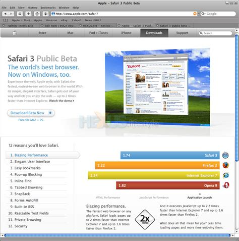 apple offers safari browser for windows and it s fast