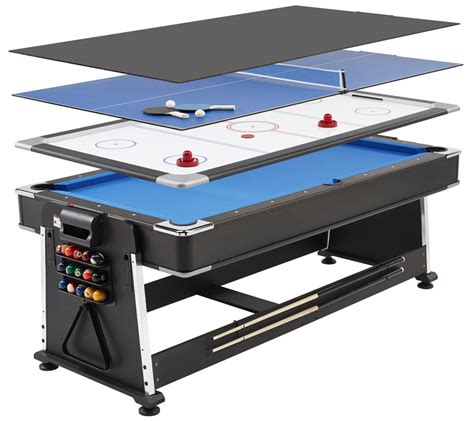 pool air hockey ping pong table revolver 3 in 1 pool air hockey and table tennis table