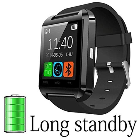 Smart U8 Bluetooth For Smartphones Ios Apple Iphone Android a8power u8 bluetooth smart wristwatch phone mate for