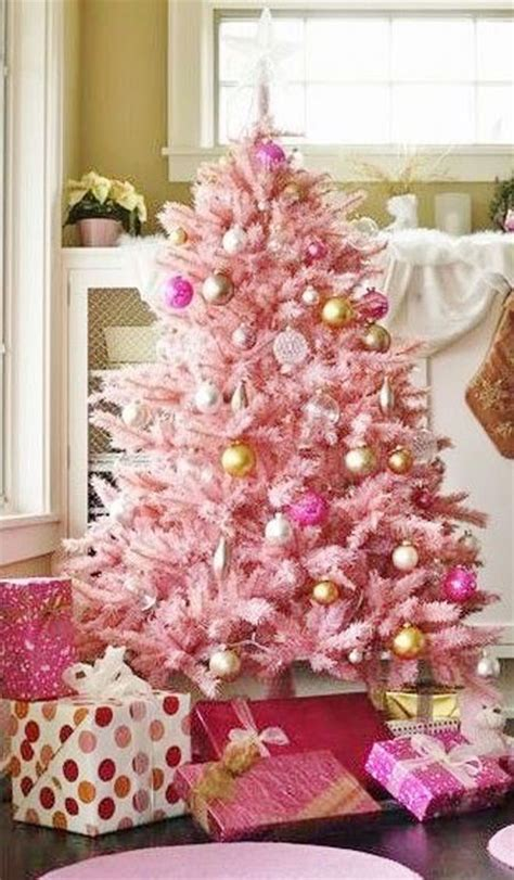 decorating a pink christmas tree pink decorating ideas all about