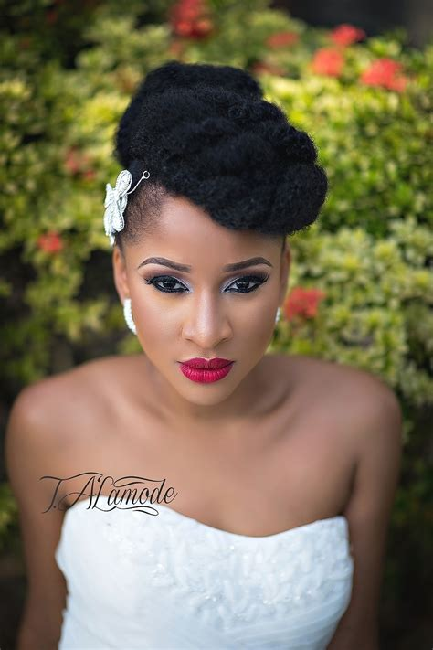 Wedding Hairstyles For South Black Brides by South Bridal Hairstyle Fade Haircut