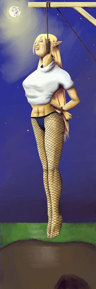 Velina Hanged By Darthwoo Hentai Foundry