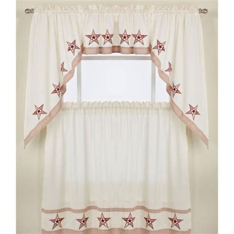 kitchen curtains swags kitchen tier curtains swag pair and valance country