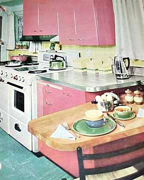 40s Home Decor retro rooms the 1950s kitchen hooked on houses