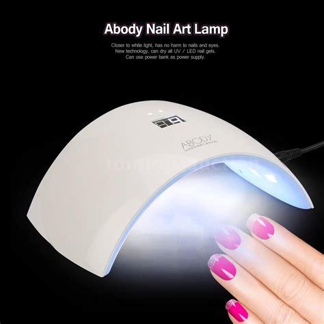 uv light for gel nails abody 24w nail dryer l led uv gel acrylic curing