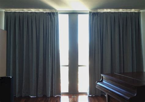 curtain exchange nashville blue linen curtain panels with thermal blackout lining