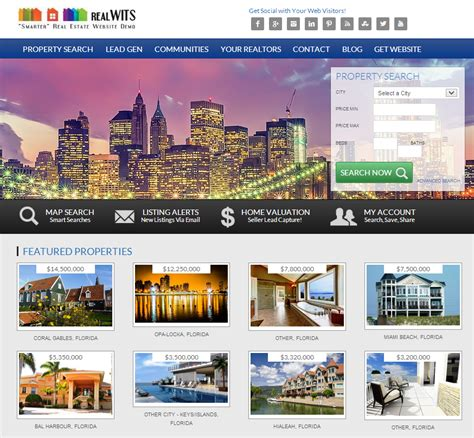 how real estate website design affects lead generation