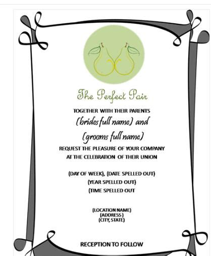 download ms word birthday party invitation template software