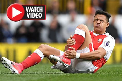alexis sanchez injured premier league team news january transfer stars risking