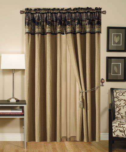 chezmoi collection curtains chezmoi collection santa fe horses cabin lodge tapestry 4