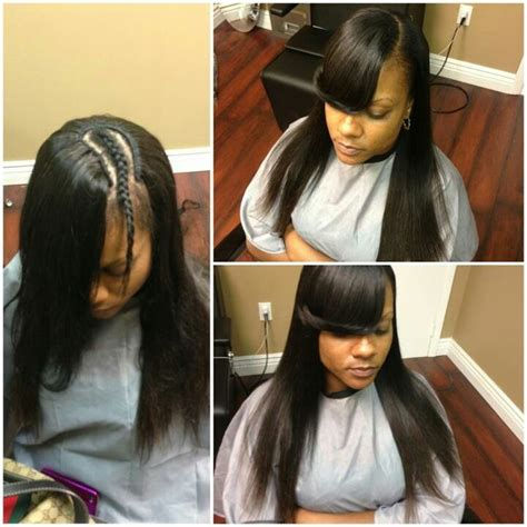 Sew In Hairstyles With Side Bangs by Sew In Hairstyles With Side Bangs Remi Hair Sew In