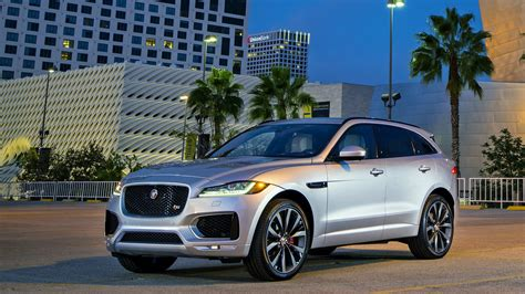 jaguar f pace a luxury suv joins a crowded field la times