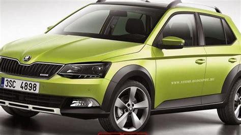 skoda fabia suv front picture  car release news