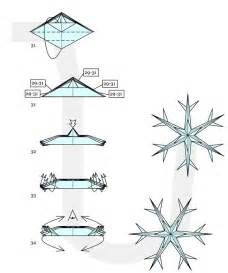 Origami christmas decorations ornate winter snowflakes 171 origami