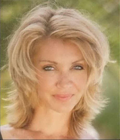 medium length frizzy hairstyles for women over 50 mid length hairstyles for women over 50