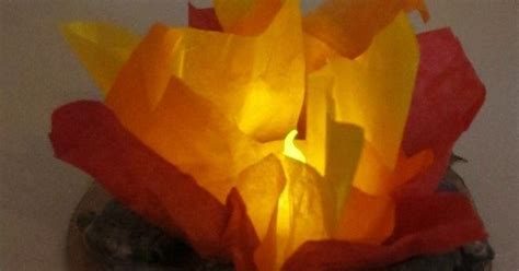 How To Make Flames Out Of Tissue Paper - blue and gold dinner centerpieces oh boy i am the