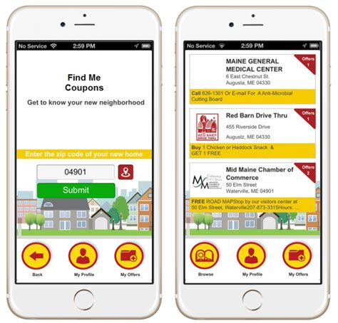 coupon apps for android location based coupon app for retail