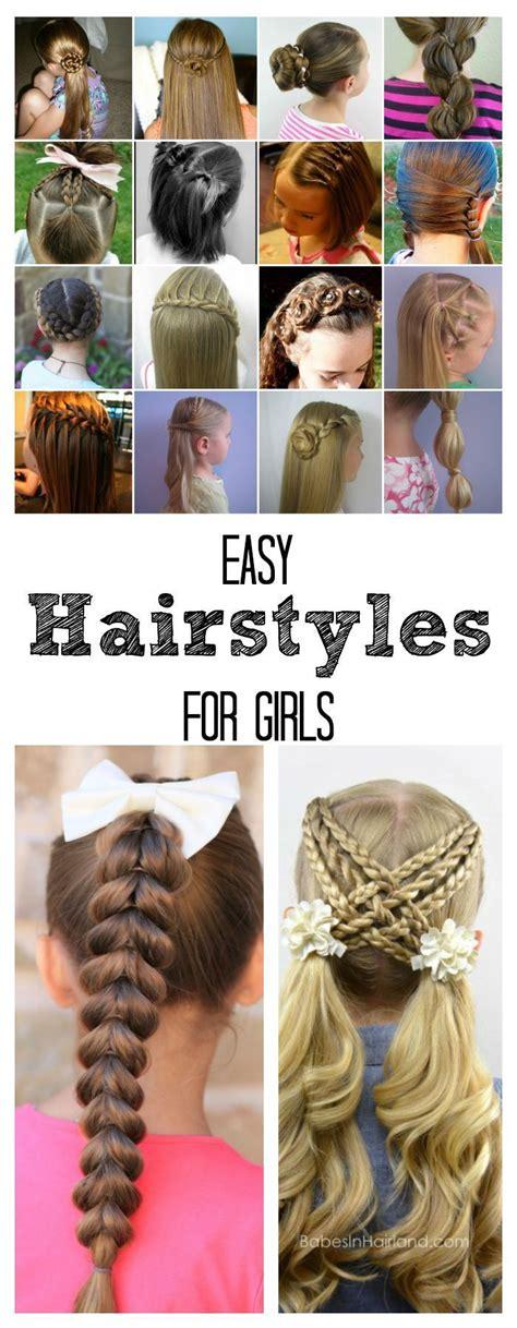 quicken easy hairstyles for school easy hairstyles for girls penteados cabelo e cabelo de