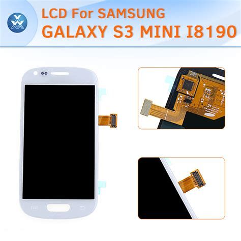 Lcd Dan Touchscreen Samsung S3 Mini black white for samsung i8190 galaxy s3 mini lcd touch